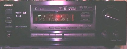 Onkyo Dolby Digital amplifier.